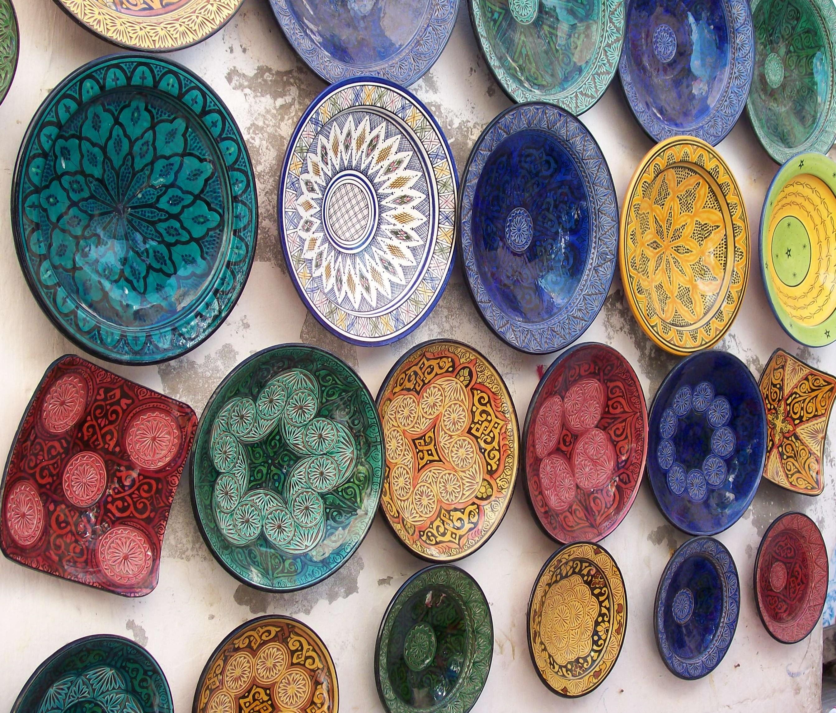 la poterie marocaine un artisanat haut de gamme. Black Bedroom Furniture Sets. Home Design Ideas